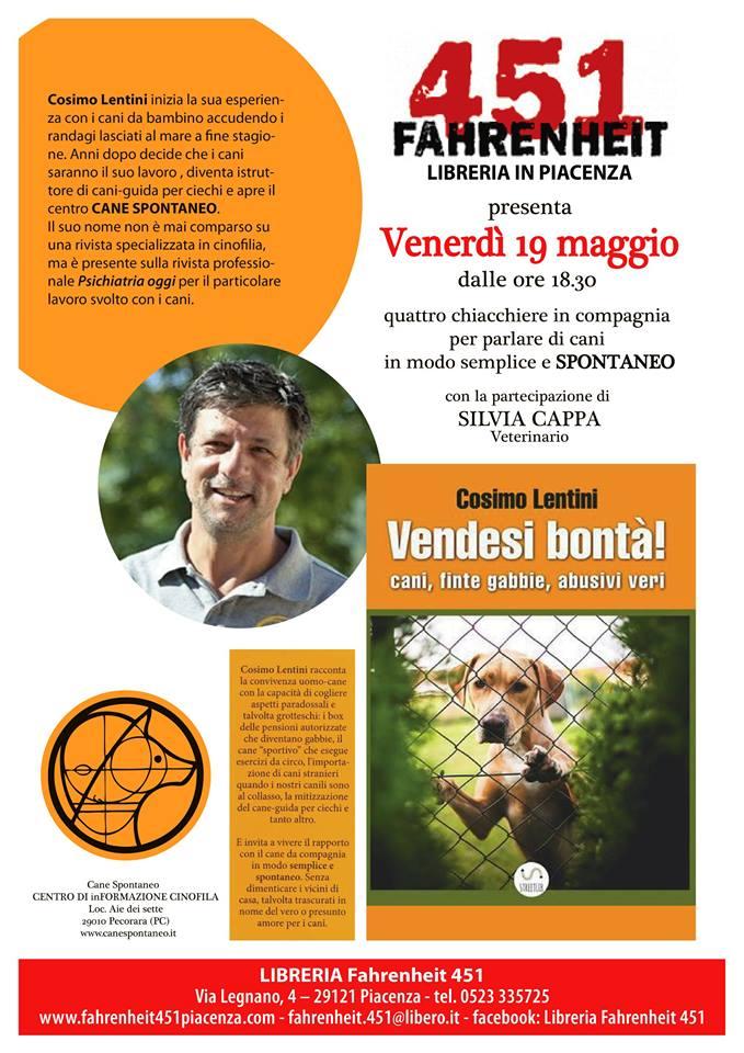 Libreria Fahrenheit Piacenza - Presentazione libro
